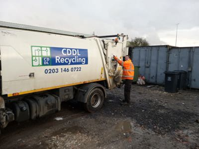 bemix Supported Internship with CDDL Recycling Kent