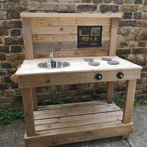 Handmade Mud Kitchen